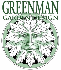 The Green Man image is being used by any number of commercial enterprises, such as this garden desoign company in B.C., Canada